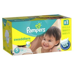 $17.43Pampers Swaddlers Diapers Size 5, 124 Count
