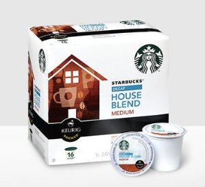 25% Offon all K-Cup Pack Purchases @ Starbucks