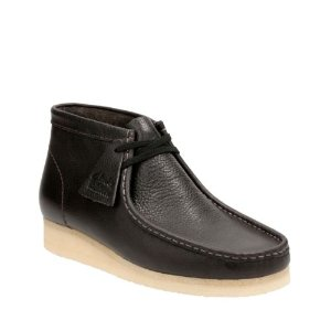Wallabee Boot Charcoal Leather - Clarks Originals - Clarks® Shoes Official Site