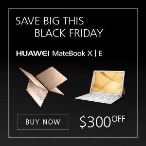 $300 off, from $499.99Huawei MateBook X/E Hot Sale