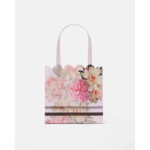 Painted Posie small shopper bag