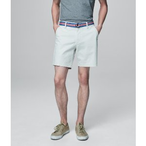 Prince & Fox Belted Stretch Chino Shorts - Aeropostale