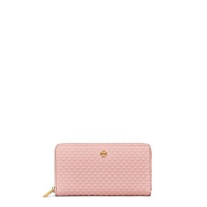 Tory Burch Marion Embossed Multi-gusset Zip Continental