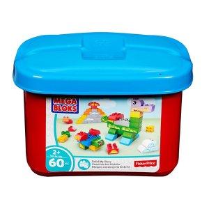 Mega Bloks® Build-A-Story Small Tub - Classic | FBC08 | Fisher-Price
