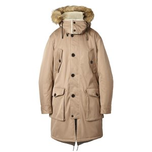 Heritage Water-Repellent Parka with Removable Hood