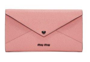 $550Miu Miu Pink Heart Envelope Pouch