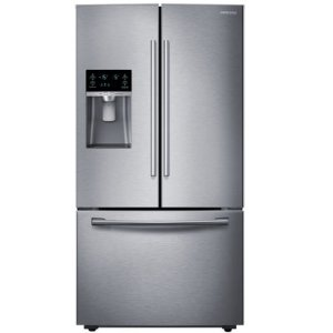 "$995Samsung ENERGY STAR® 26 cu. ft. 36"" Wide 3-Door French Door Refrigerator with Filtered Ice Maker"