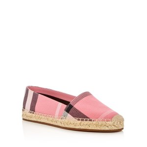 Burberry Hodgeson Espadrille Flats | Bloomingdale's