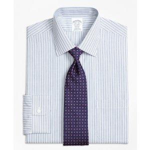 Non-Iron Regent Fit Split Stripe Dress Shirt - Brooks Brothers