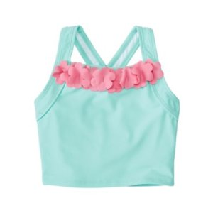 Girls Flutter Tankini Top from Hanna Andersson