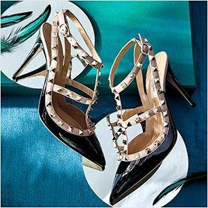Up to 70% OffThe Shoe Salon Featuring Valentino @ Rue La La