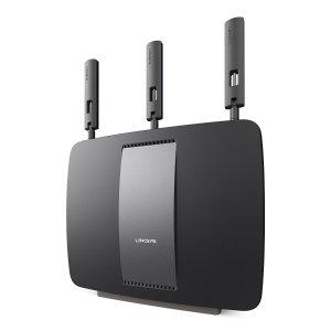 $105.00 (原价$179.99)Linksys AC3200 EA9200三频无线智能路由器