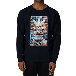 Adidas BTS SWEATSHIRT - Navy | Jimmy Jazz - AY7799-401