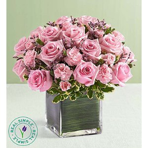 Pink Rose Fancy by Real Simple® | 1800Flowers.com - 148508