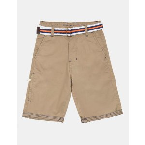 BOYS BELTED SHORT WITH TURN UP HEM - U.S. Polo Assn.