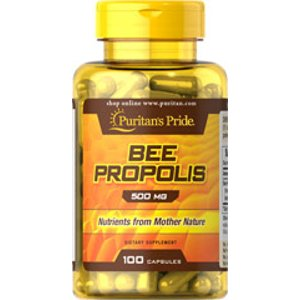 Bee Propolis 500 mg 100 Capsules | Bee Products Supplements | Puritan's Pride