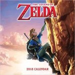 The Legend of Zelda 2018 Wall Calendar