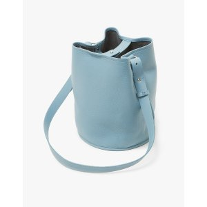 Creatures Of Comfort Small Bucket Bag in Sage Blue