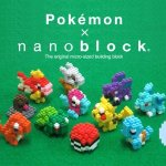 KAWADA Pokemon Nanoblock 12 Characters Set @Amazon Japan