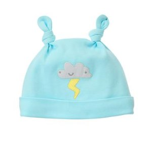 Baby Sky Blue Stormy Beanie by Gymboree