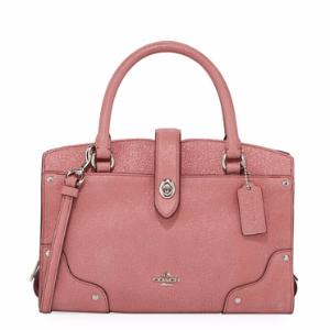 Mercer 24 Glitter Rose Satchel Bag