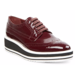Prada - 漆皮牛津鞋