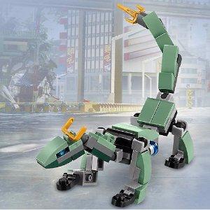 Free Mini Green Ninja Mech DragonWith $35+ Purchase @ LEGO®