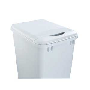 Rev-A-Shelf 1.75 in. H x 10.35 in. W x 14.12 in. D 35 Qt. White Waste Container Lid-RV-35-LID-1 - The Home Depot