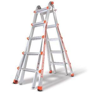 Little Giant Ladders Alta-One Model 22 TYPE1 250LB Aluminum Multi-Use Ladder