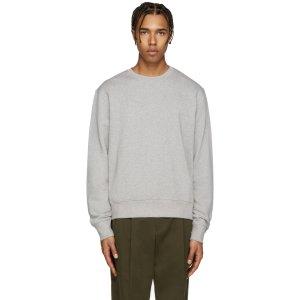 Acne Studios: Grey Casey Sweatshirt | SSENSE