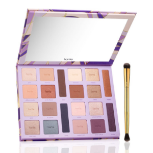 limited-edition color vibes Amazonian clay eyeshadow palette with brush | Tarte Cosmetics