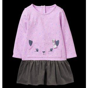 cat dot dress
