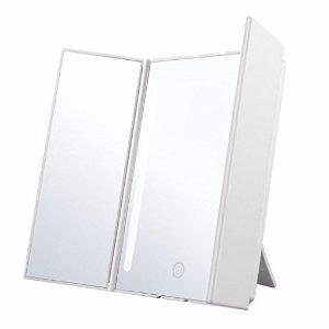 $14.69 (原价$39.99)Jerrybox 可折叠LED灯3面化妆镜