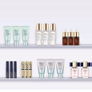 receive a free 7-pc giftwith $45 the mini bar purchase @ Estee Lauder