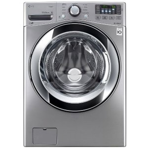 LG Electronics 4.5 cu. ft. High Efficiency Front Load Washer with Steam in Graphite Steel, ENERGY STAR-WM3670HVA - The Home Depot