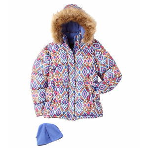 Vertical '9® 女童保暖外套