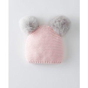 Critters + Hugs Sweaterknit Hat