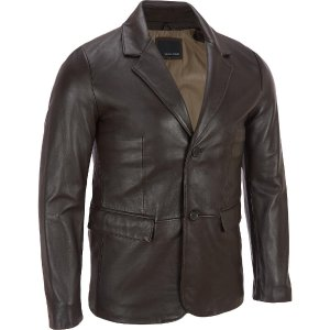 Wilsons Leather 2-Button Smooth Lamb Blazer - View All - Men's & Big/Tall - Wilsons Leather