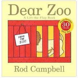 $2.38(原价$6.99)史低价:Dear Zoo亲爱的动物园硬页翻翻书