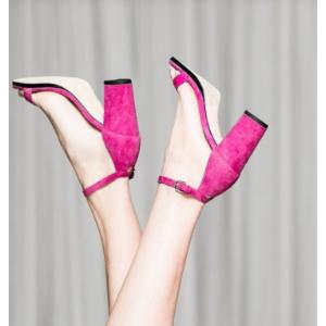 NearlyNude Block Heel Sandals - Shoes | Shop Stuart Weitzman