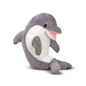 Melissa & Doug Skimmer Dolphin Plush Toy