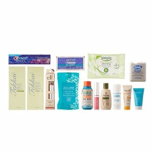 $11.99 Beauty Sample Box, 10 or more items ($11.99 credit on select products with purchase)