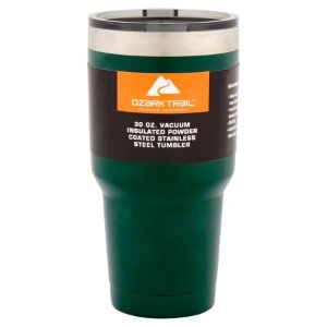 as low as $5Ozark Trail 30-Ounce Double-Wall, Vacuum-Sealed Tumbler