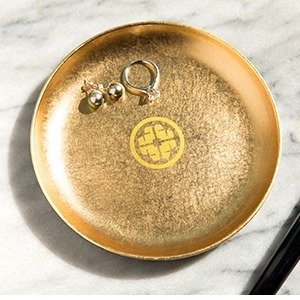 Gold-leaf Treasure TrayWith Any Purchase of $100 @ Tatcha