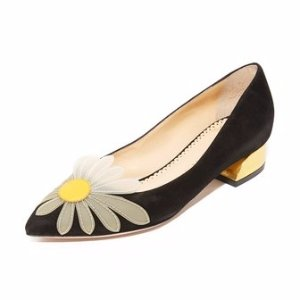 Charlotte Olympia Aster Daisy Court Shoes | SHOPBOP