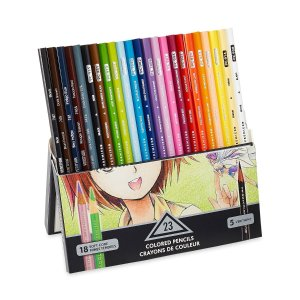 $7.25Prismacolor Premier Soft Core Colored Pencil, Set of 23 Assorted Manga Colors