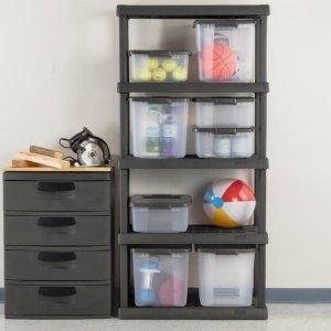 $25.03Sterilite 01553V01 5 Shelf Unit, Flat Gray Shelves & Legs, 1-Pack