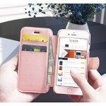 Iphone 6 6s 玫瑰金皮质钱包式手机壳