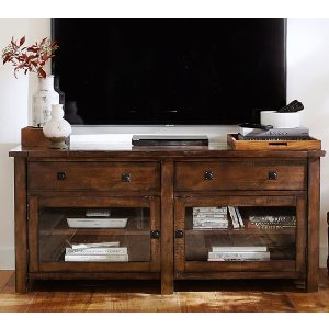 Benchwright TV Stand, Large | Pottery Barn