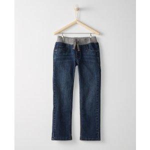 Jersey Lined Kickstart Slim Jeans